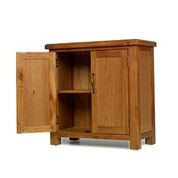e wood 2 door cupboard