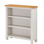 "hartford painted low small bookcase  ""75 cm wide"""