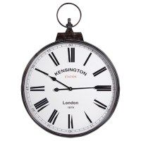 "kensington wall clock  ""dia 60cm x 81cm high"""