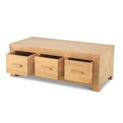 moda 6 drawer coffee table