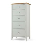 ranford 5 drawer tall chest