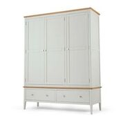 ranford triple robe with drawer